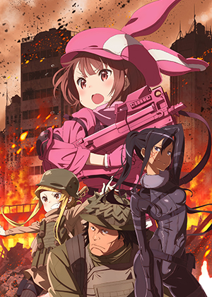 Sword Art Online Alternative: Gun Gale Online [12/12] [HDL] 100MB [Sub Español] [MEGA]