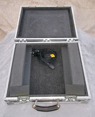 Image of small flight case internal view