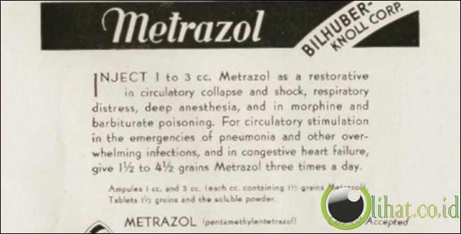 Metrazol Treatment