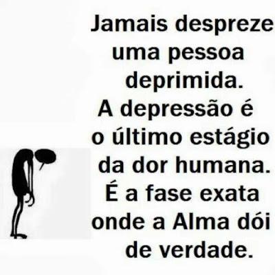 Nunca despreze uma pessoa deprimida - depressão e espiritualidade