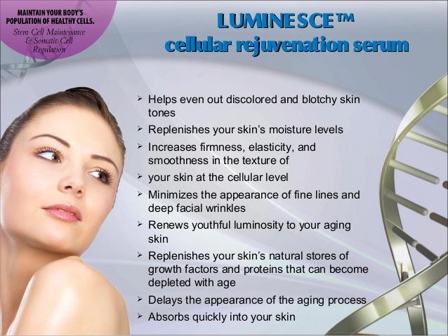 Luminesce serum