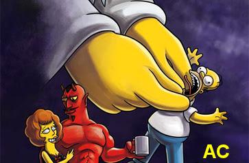 Los Simpson se burla de Dios