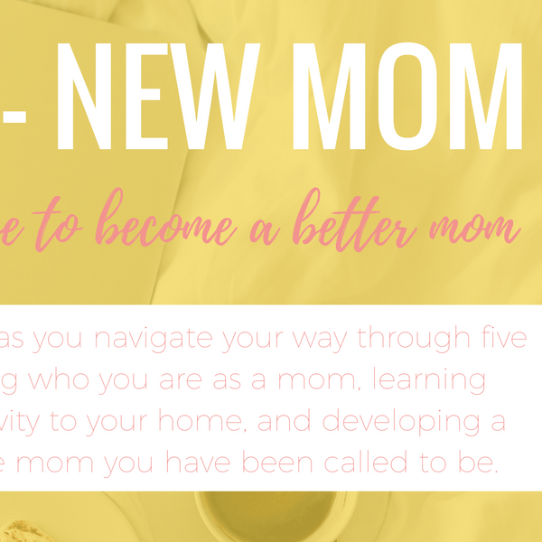 New Year - New Mom