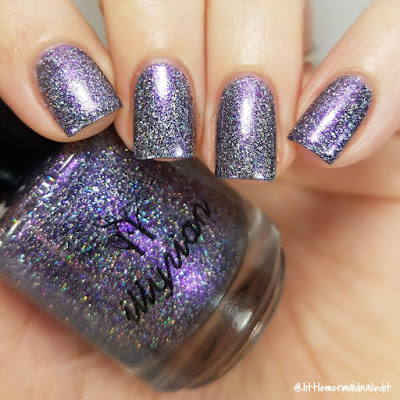 Illyrian Polish Nil Collection Alien Swatches and Review