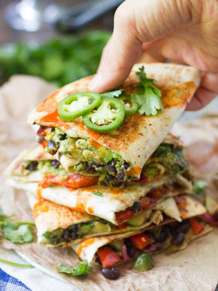 Loaded Avocado Quesadillas #Recipe - My Favorite Recipes