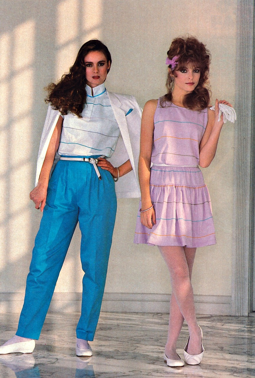 More Was More in '80s Fashion ~ Vintage Everyday