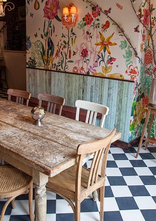 die wohngalerie blumen f r die k che inspiration der bakeri in new york. Black Bedroom Furniture Sets. Home Design Ideas