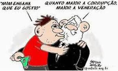 ESPECIALISTAS EXPLICAM O COMPORTAMENTO DE ADMIRAÇÃO DE PESSOAS PELO CONDENADO LULA