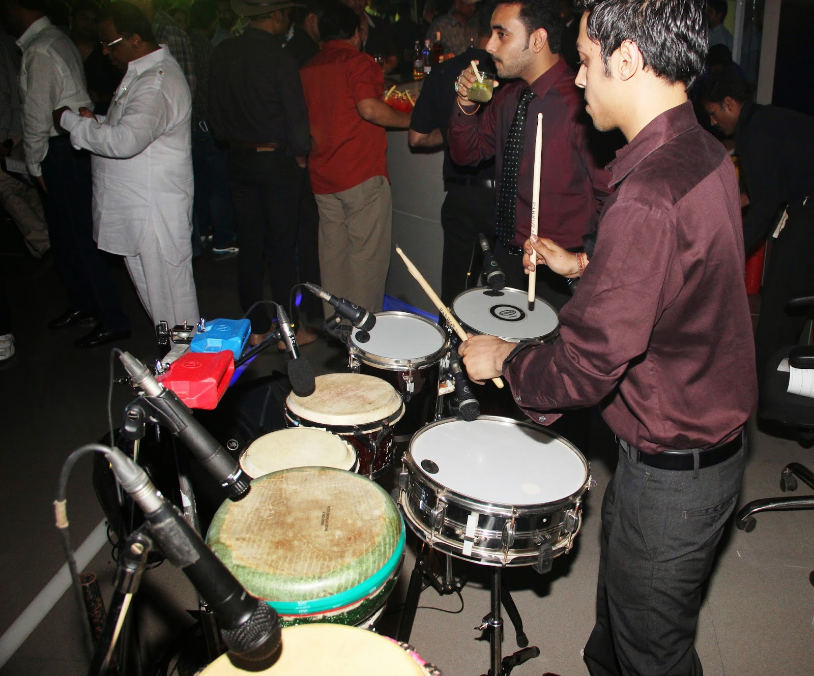 Percussionist Tarang Mercedes-Benz GLA-Class Preview at Shaman Wheels,Kalina