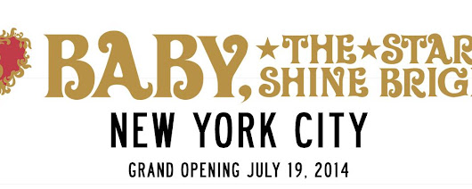 Baby, The Stars Shine Bright to Open New York City Store!