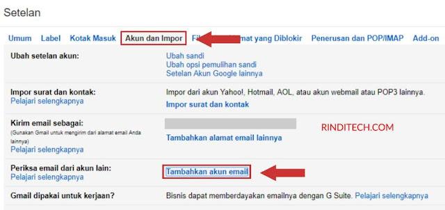 Cara Forward Email Otomatis dari Yahoo ke Gmail