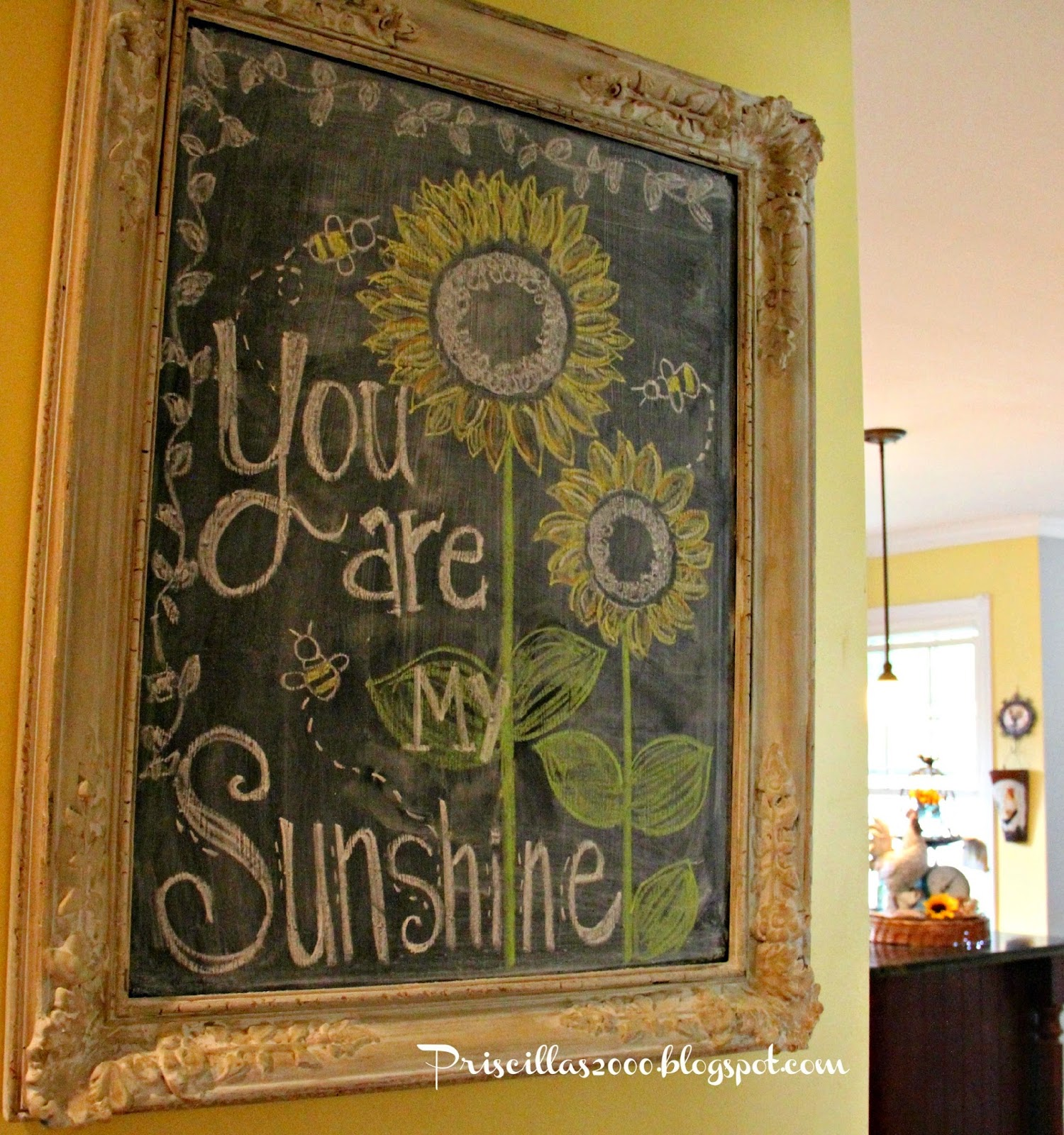 Vintage, Paint and more... chalkboard art feature