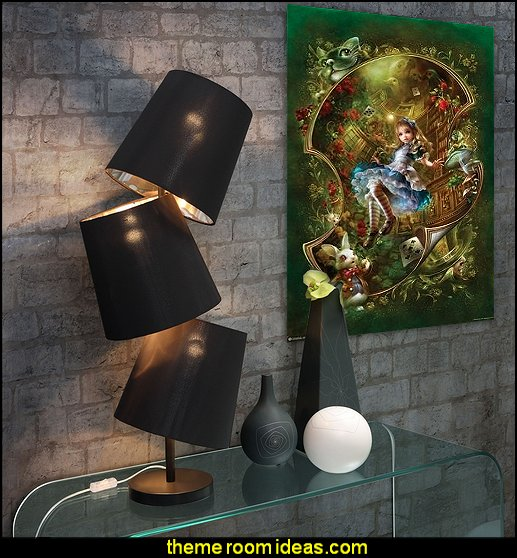 Black Cosmology Table Lamp overstock lamps