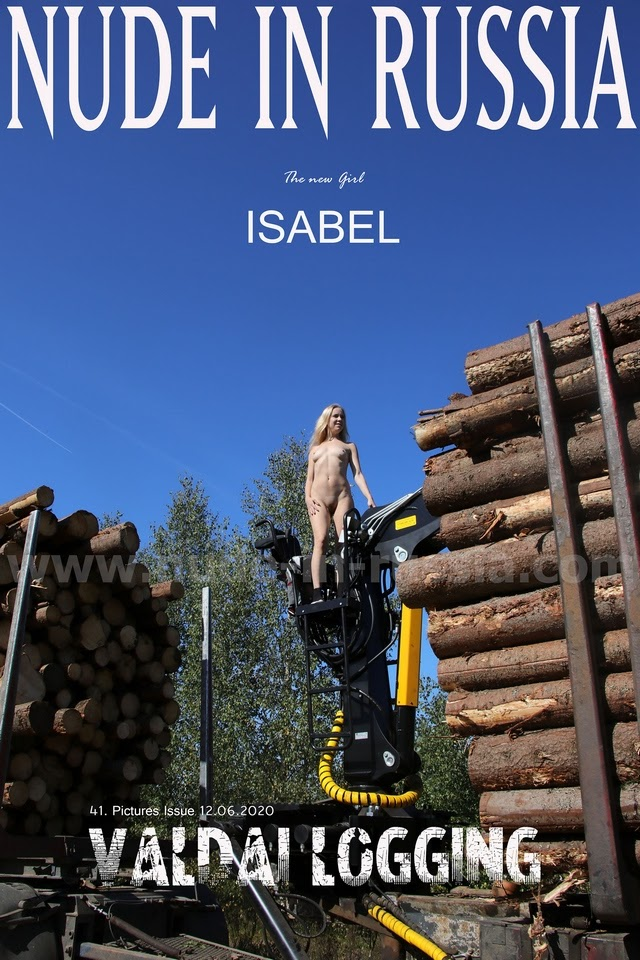[Nude-in-Russia] Isabel - Valdai Logging 1592375739_isabel