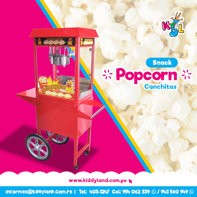 Popcorn Canchitas Snack Perú