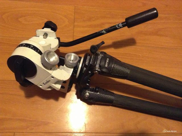 Pentax O-GPS1(How to):Telescope setup
