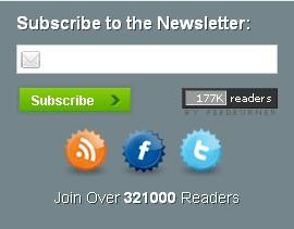 ProBlogger Clone Email Subscription Widget
