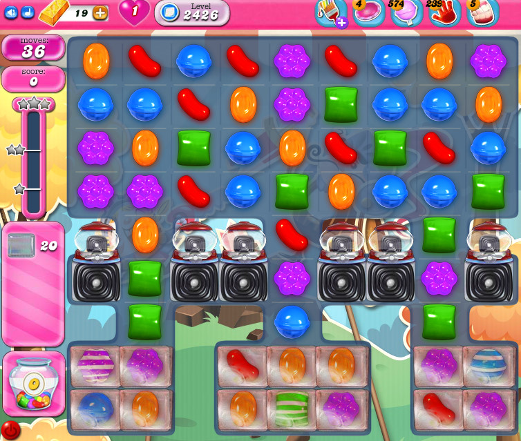 Candy Crush Saga level 2426