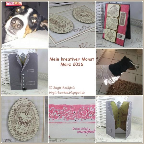 Mein kreativer Monat - März 2016