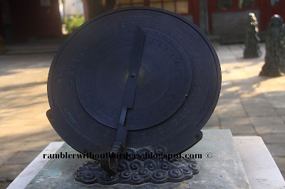 Ancient Chinese moondial