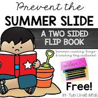 https://www.teacherspayteachers.com/Product/End-of-the-Year-Summer-Slide-Flip-Book-for-Parents-2536696