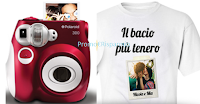 Logo Vinci gratis le t-shirt personalizzate Amadori + Polaroid 300