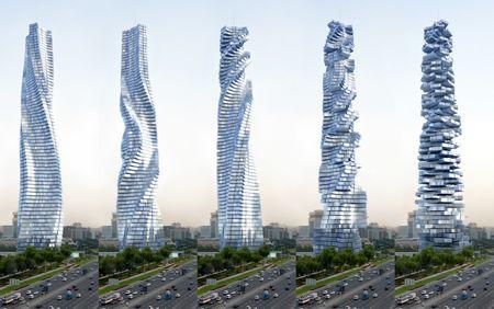 David Fisher Hat Den Dreh Raus Der Italienische New Yorker Architekt Plant In Dubai Bau Eines Dynamic Tower Drehturms Von 80 Stockwerken Und 420 Metern