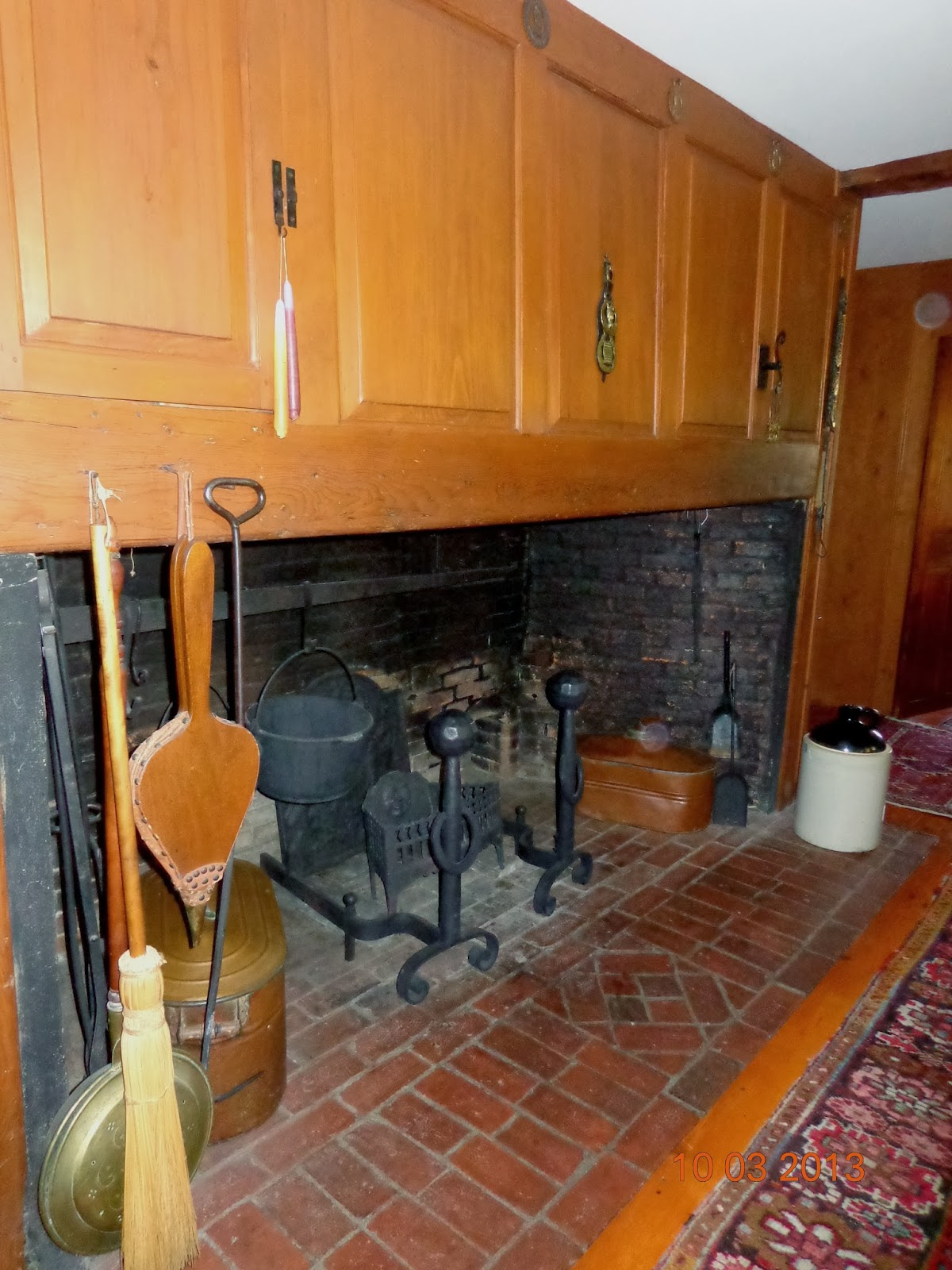 Kitchen Fireplace For Cooking Antique Houses Of Gloucester And Beyond When Is A House Really