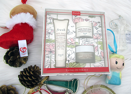Fresh Holiday Gift set Facial on the Fly set ($41)