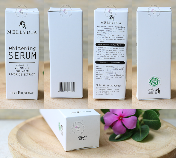 Review Mellydia Whitening Serum