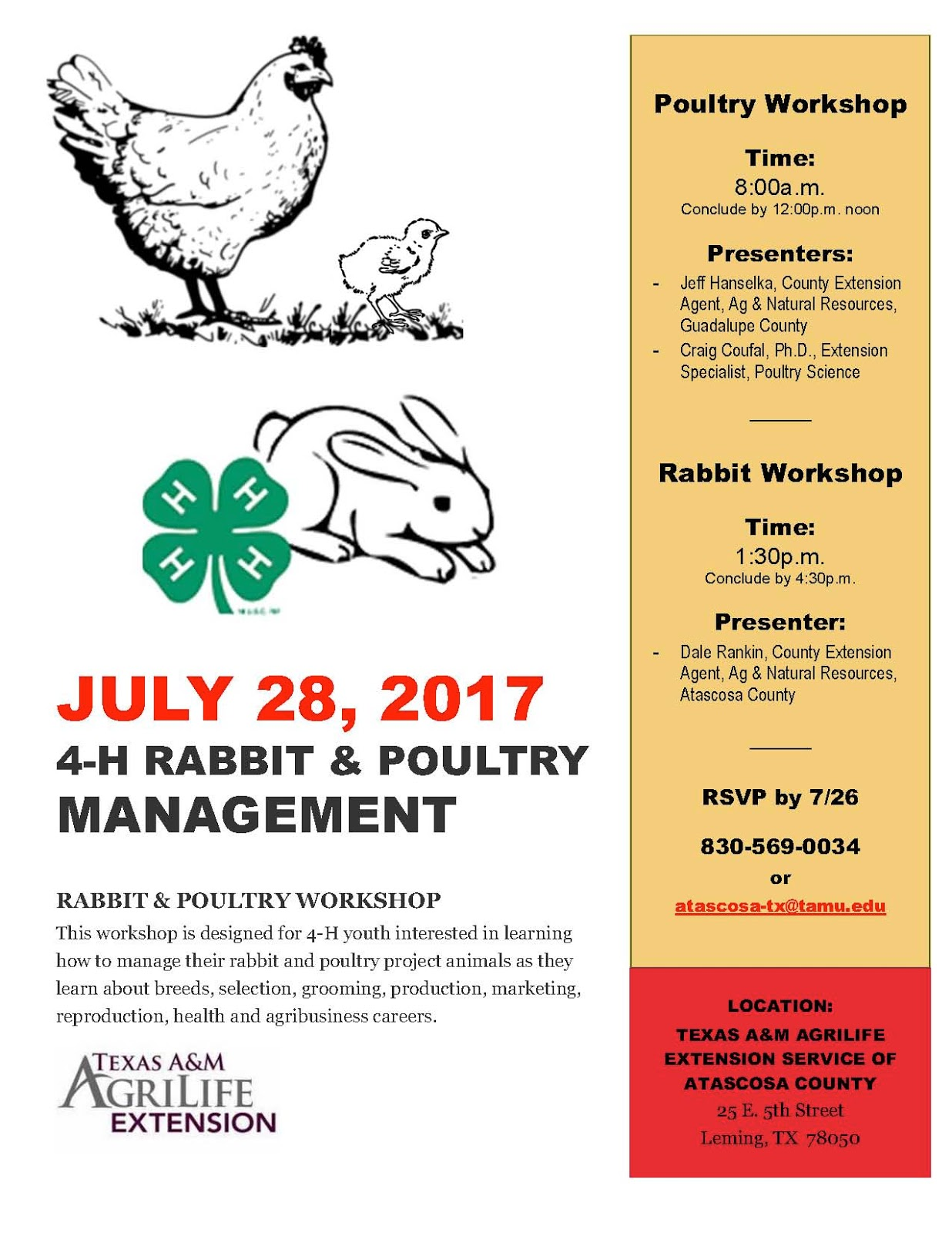 Caldwell County 4 H Blog 4 H Rabbit Amp Poultry Management
