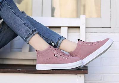 Beli Sneakers Women Casual Shoes Dari Lazada, Selesa Sangat!