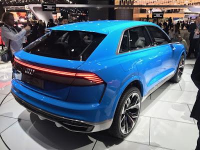 Audi Q8 SUV Concept Rear Taillight wallpaper