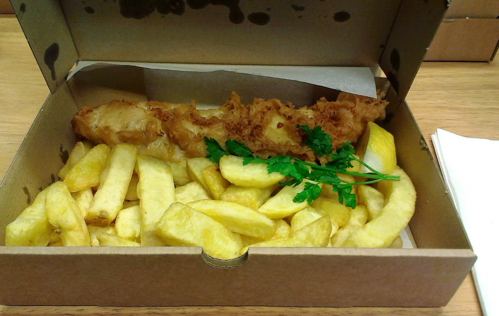 The Scallop Shell Beckington Haddock and Chips
