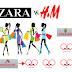 패스트 패션 판매, 자라 웃고 H&M  울상