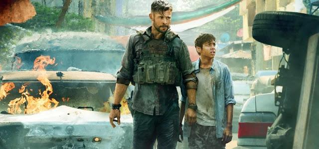 Vídeo mostra bastidores do novo filme de Chris Hemsworth na Netflix