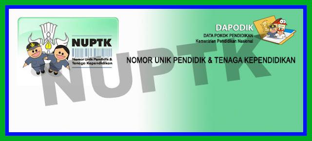 Download Cara Mendapatkan Dan Cek Data NUPTK Online Versi Terbaru 2018