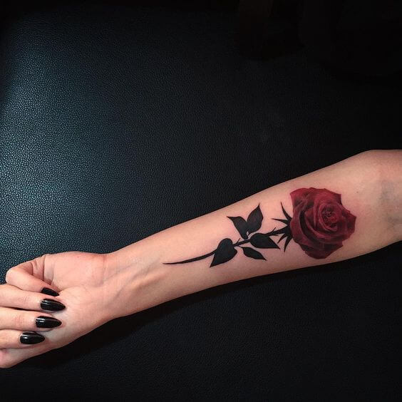 tattoo small rose