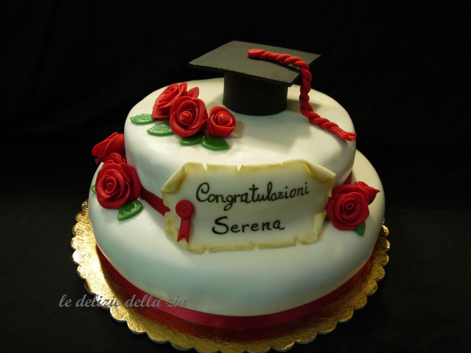 Top le delizie della zia: La torta di laurea di Serena NW74