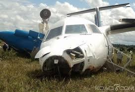 Kindia crash d'un avion à Linsan, quatre morts aucun survivant