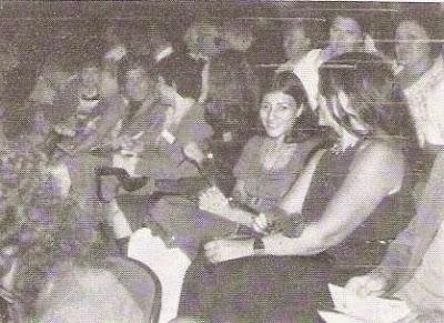 Las ajedrecistas españolas en la ceremonia de apertura de la Olimpíada de Haifa de 1976