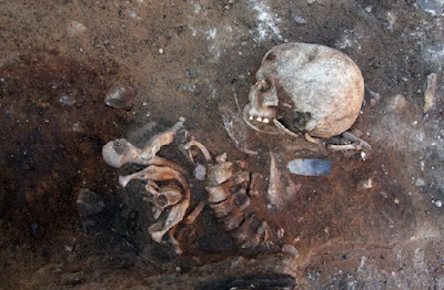 7,000-year-old remains found in Germany buried upright