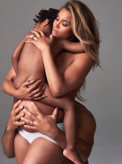 Ciara's Drops Nude Photo With Her 4 Year Old Son And Her Husband 1