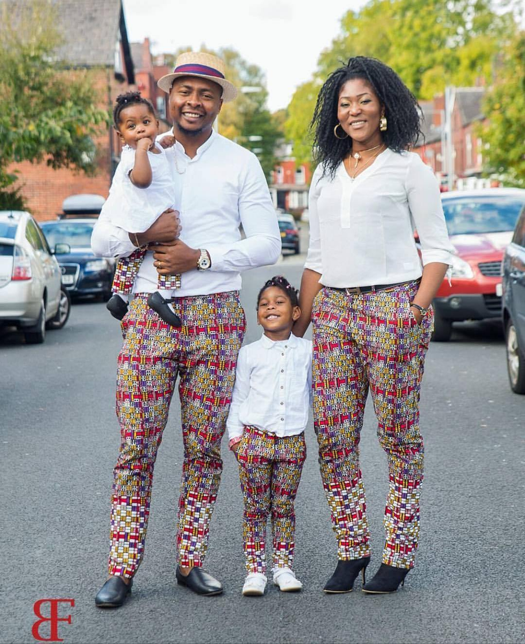 Best Family Matching Ankara Fashion Styles