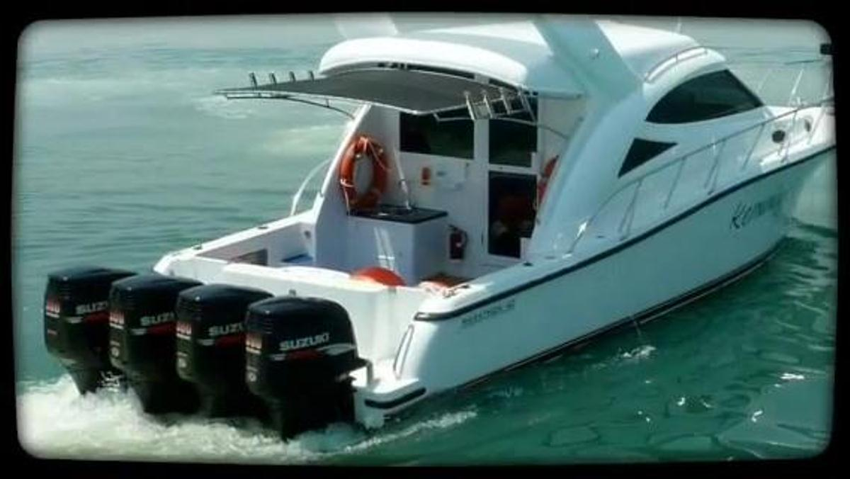 kapal patroli fiberglass