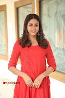 Actress Lavanya Tripathi Latest Pos in Red Dress at Radha Movie Success Meet .COM 0077.JPG