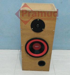 cara lengkap rakit box speaker subwoofer