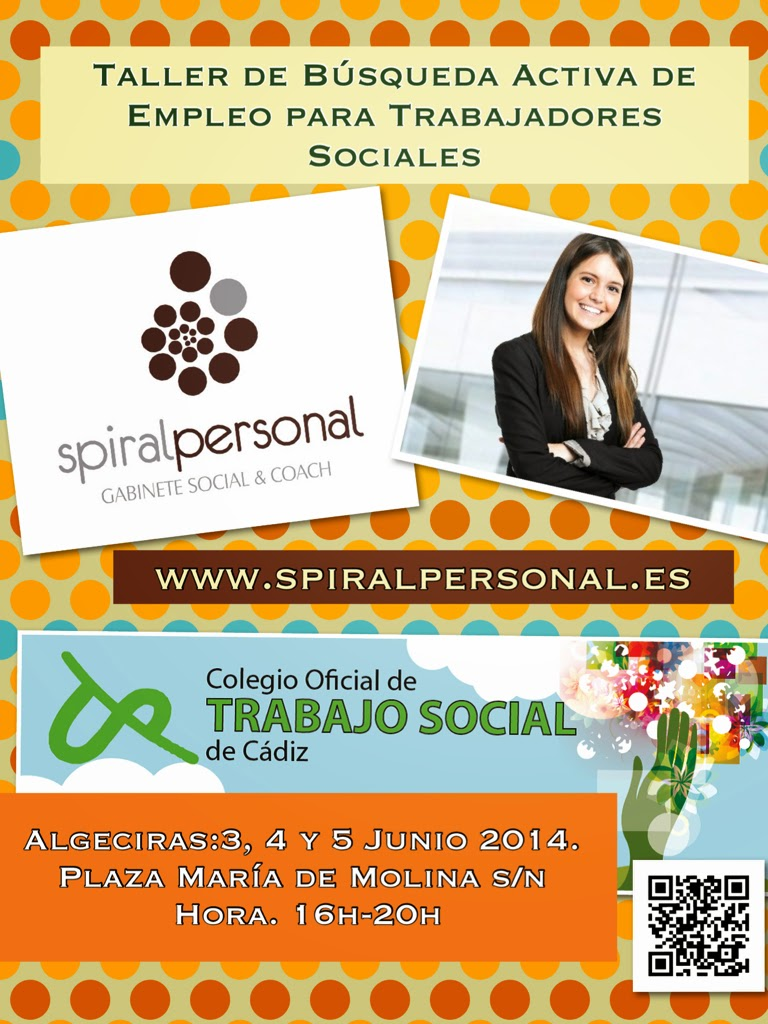 TALLER DE BÚSQUEDA ACTIVA DE EMPLEO PARA TRABAJADORES SOCIALES & SPIRAL PERSONAL