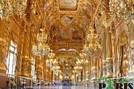 قصر غارنييه أو دارالأوبرا في باريس فرنسا Palais Garnier