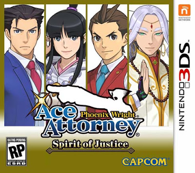 Phoenix Wright Ace Attorney Spirit of Justice CIA 3DS USA